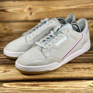 Adidas Women's Continental 80 'Grey Vivid Pink'